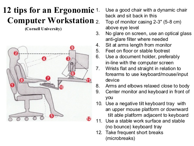 Office Chair Improve Ergonomics