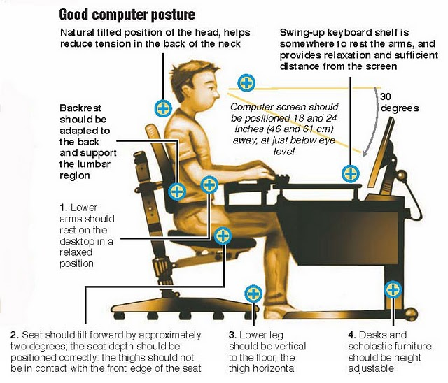 comfortable-office-chair-posture