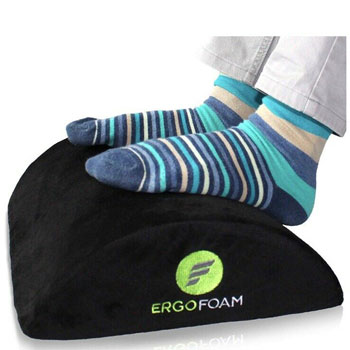 ErgoFoam Ergonomic Foot Rest Under Desk