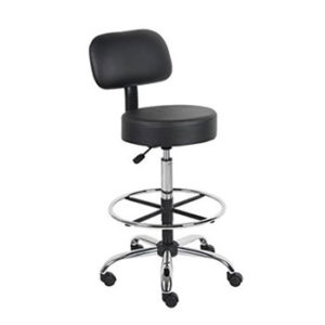 Boss Office Products B16245-BK Drafting Stool