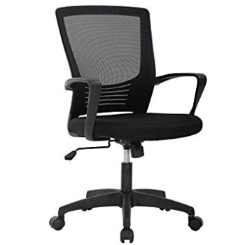Mid Back Ergonomic Desk Office Chair