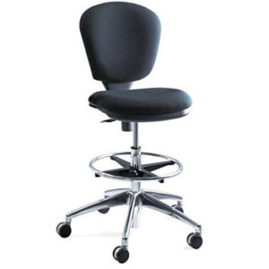 Safco Products 3442BL Tall Office Chair for Standing Desks