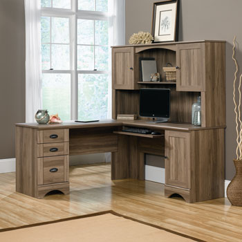 Sauder Harbor L Shaped Office Desk