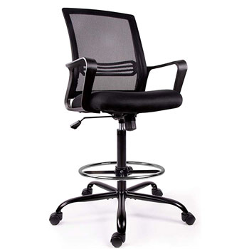 SMUGCHAIR Drafting Chair Tall Office Chair for Standing Desk