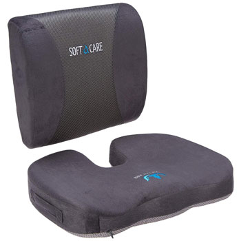 SOFTaCARE Orthopedic Memory Foam and Lumbar Support Pillow